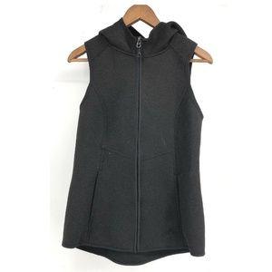 Gerry Scuba Hoodie Hooded Black Vest Jacket Small